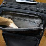 travelpro flightcrew 5 front pocket top