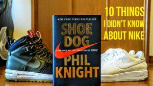"""NIKEの創設者、Phil Knightの伝記、""""Shoe Dog""""を読んでみた - NIKEについて知らなかった10個のこと"""