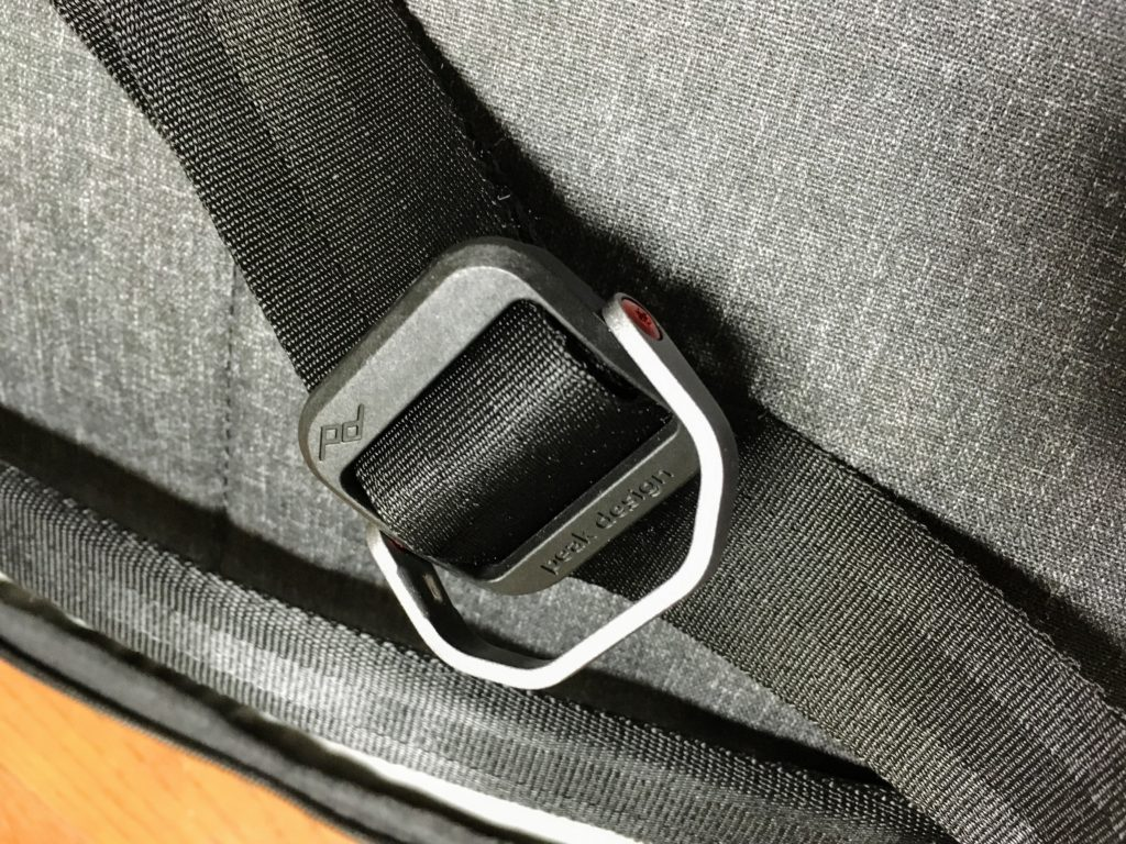Peak Design Everyday sling strap adjuster