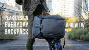 ついに来た!Peak Design(ピークデザイン)Everyday Backpack(エブリデイ・バックパック)- レビュー