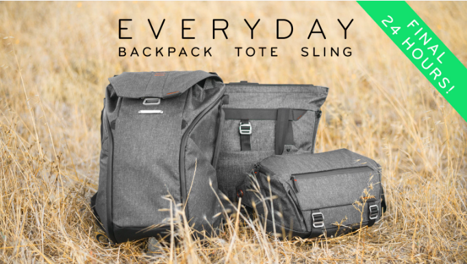 kickstarter everyday bags peak design