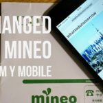changed to mineo from y mobile
