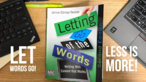 Letting go of words