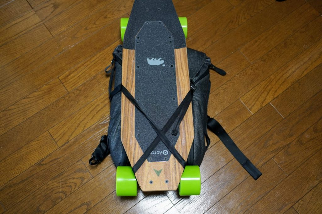 acton blink s everyday backpack top