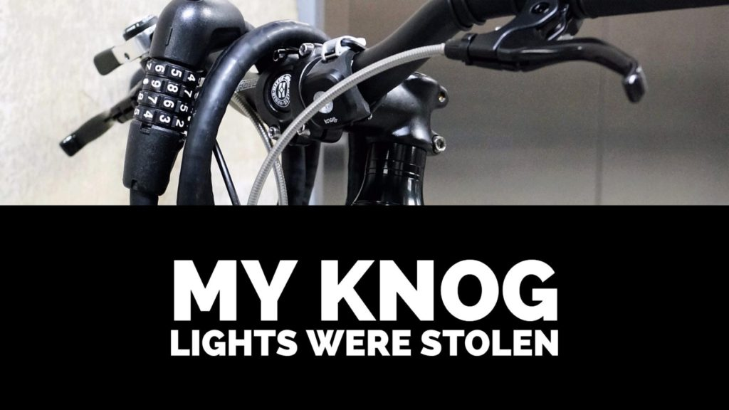 my knog lights were stolen