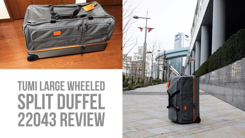 TUMI Large Wheeled Split Duffel 22043 review