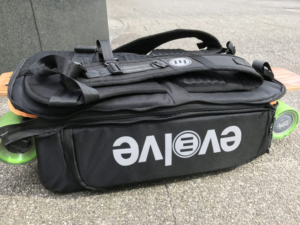 evolve backpack lid zipped