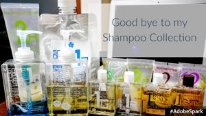 good bye shampoo