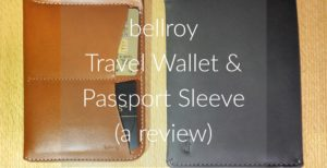 bellroy travel wallet passport sleeve