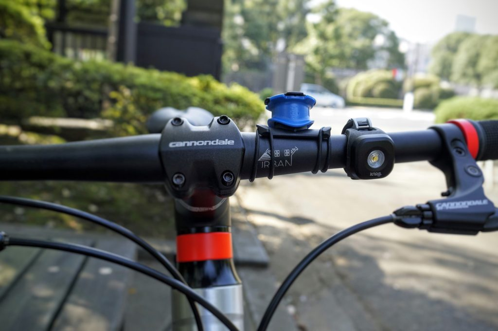 quad lock iPhone handle bar