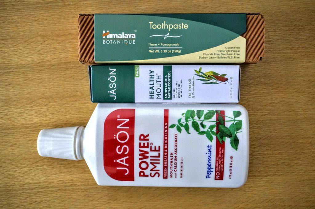 jason toothpaste mouthwash himalaya toothpaste