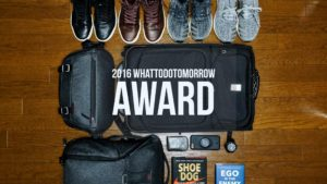 2016 whattodotomorrow award