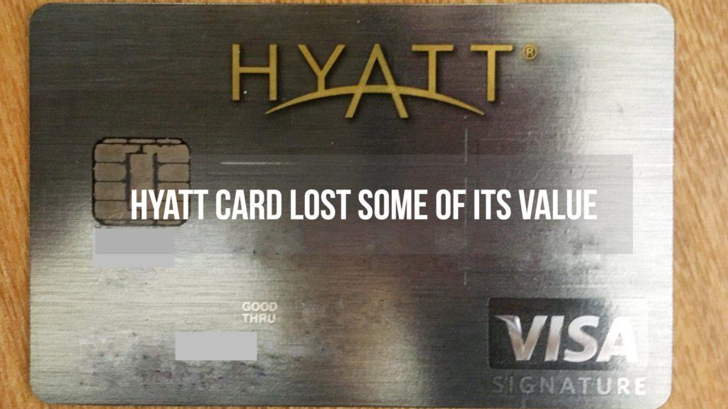 Hyatt card devaluation 2
