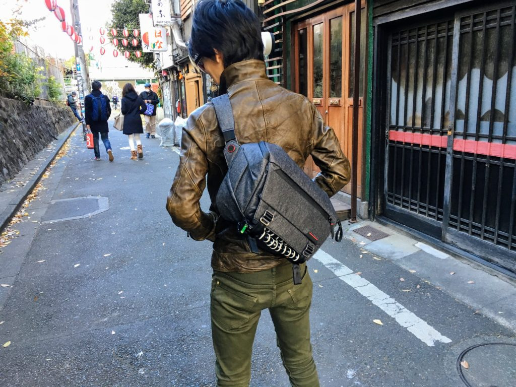 Peak Design Everyday Sling in Shibuya