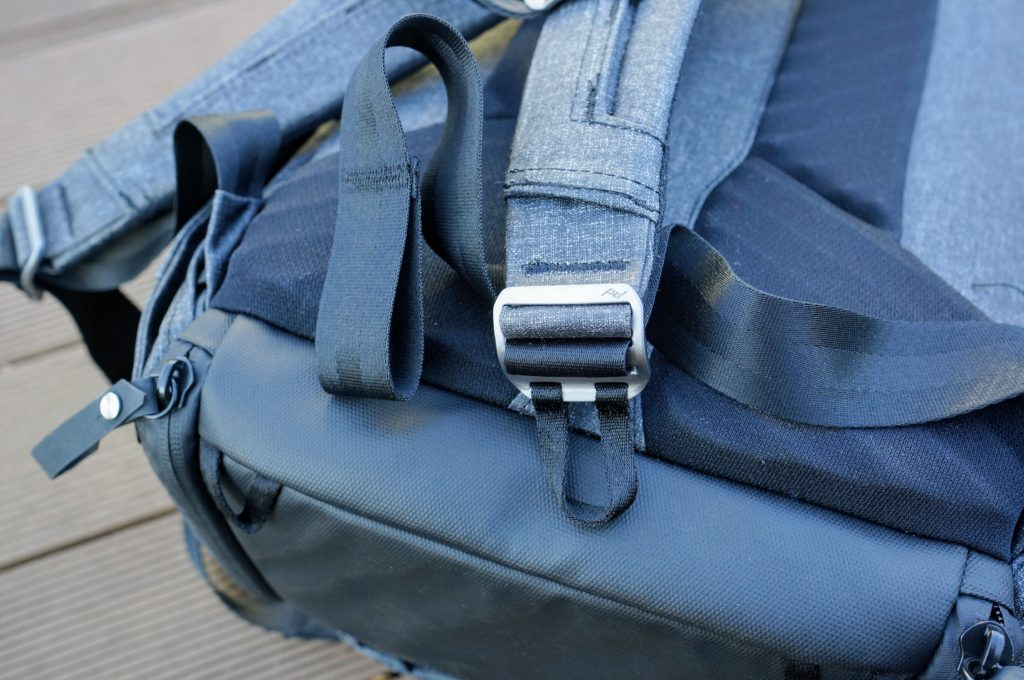 Peak Design Everyday Backpack strap adjuster