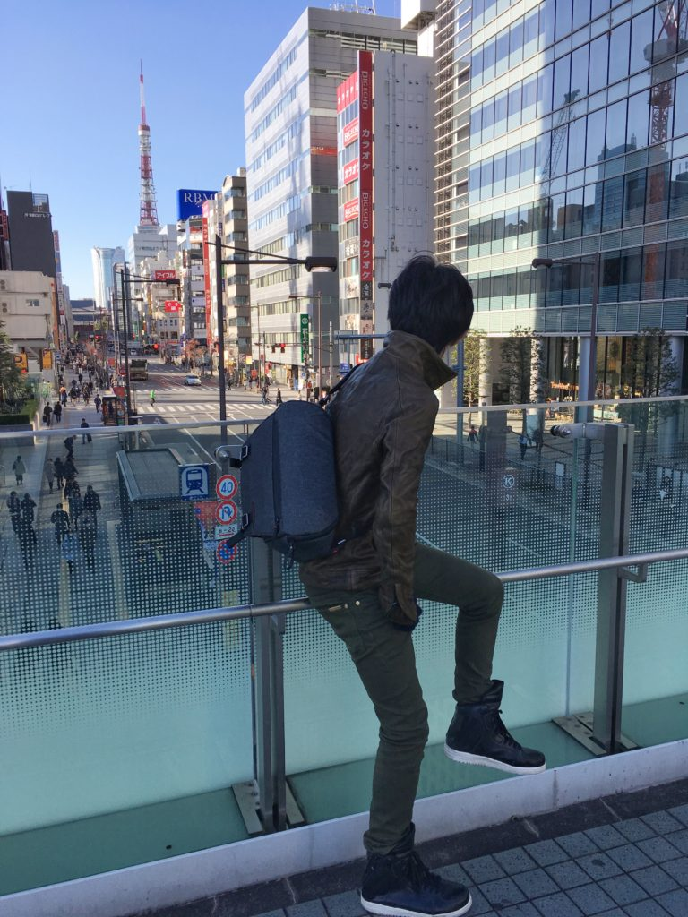 Peak Design Everyday Sling and Tokyo Tower