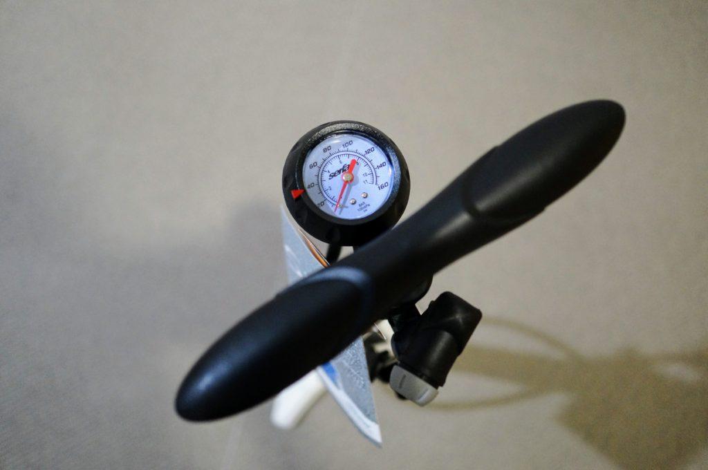 サーファス 自転車空気入れ メーター