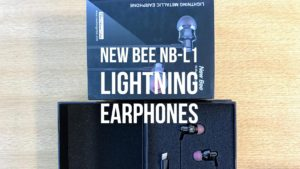 New Bee NB-L1 earphone