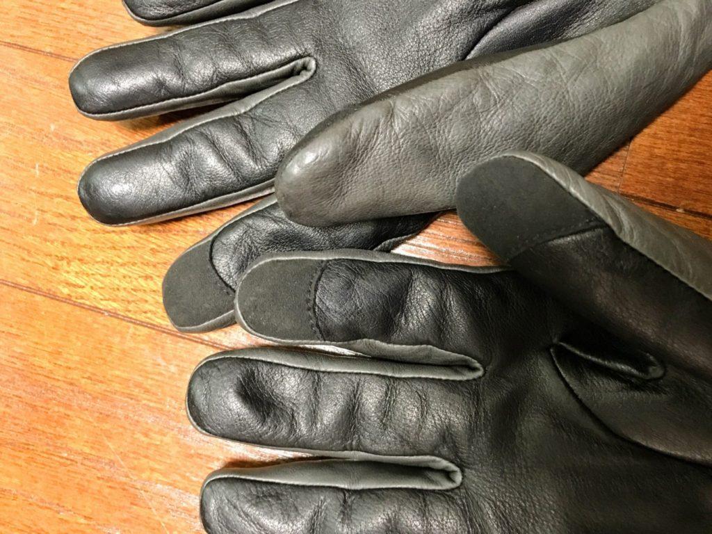 honns oliver gloves finger tips