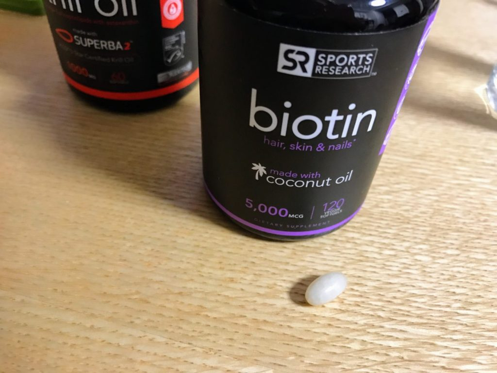 sports research biotin pill