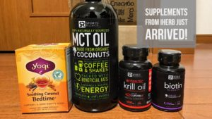 supplements from iherb arrived