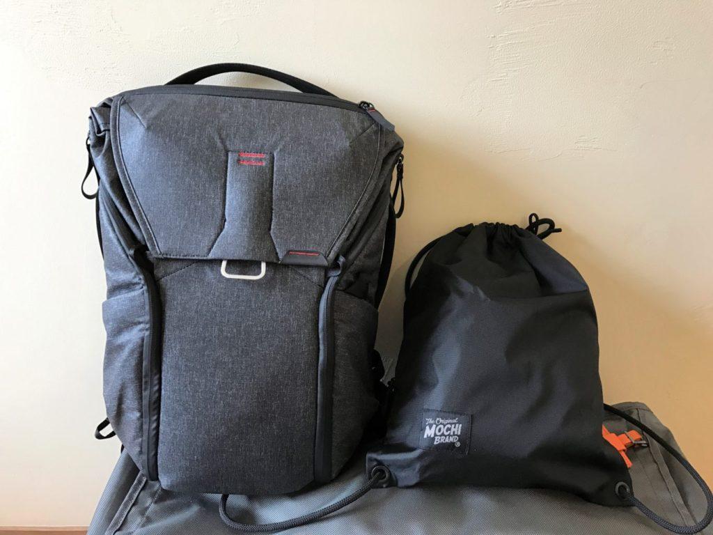 mochibag peakdesign everyday backpack