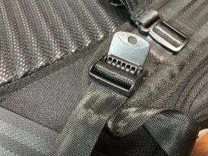 evolve backpack strap adjuster lock