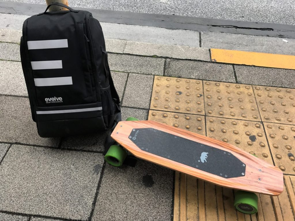 evolve backpack with acton blink s