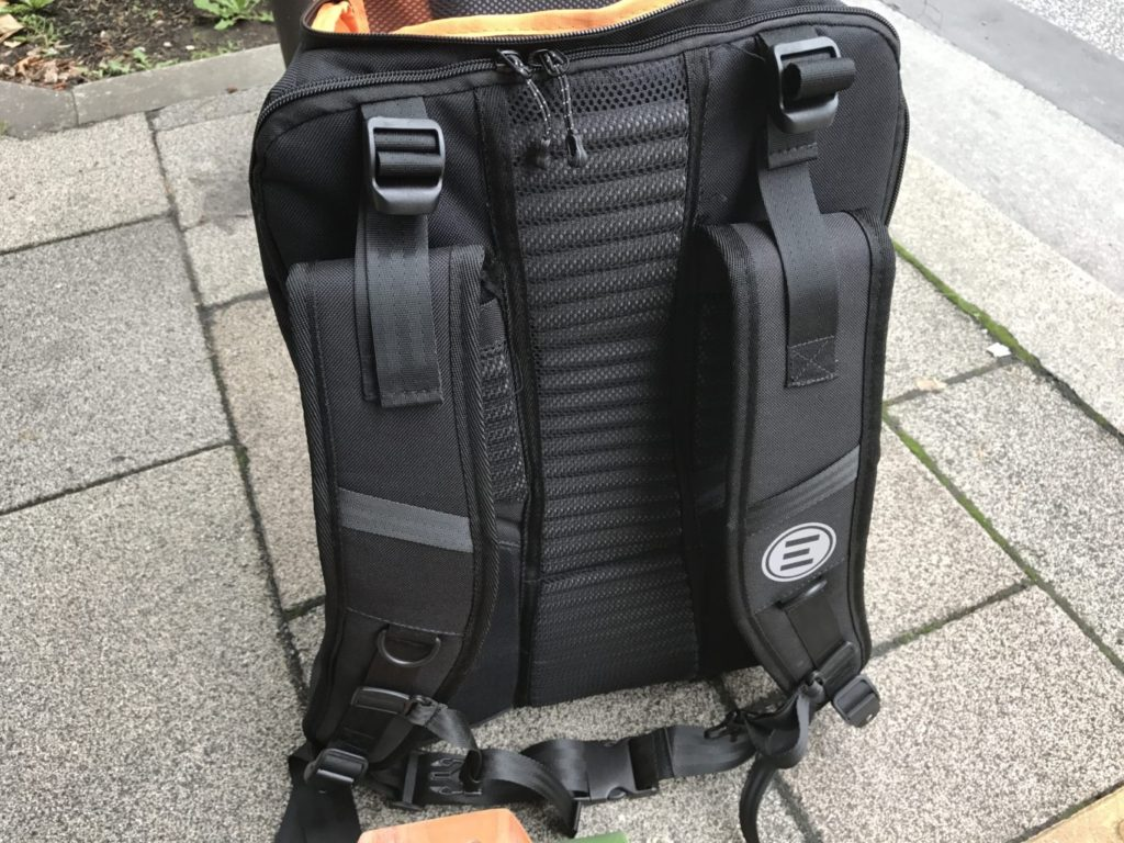 evolve backpack zippers