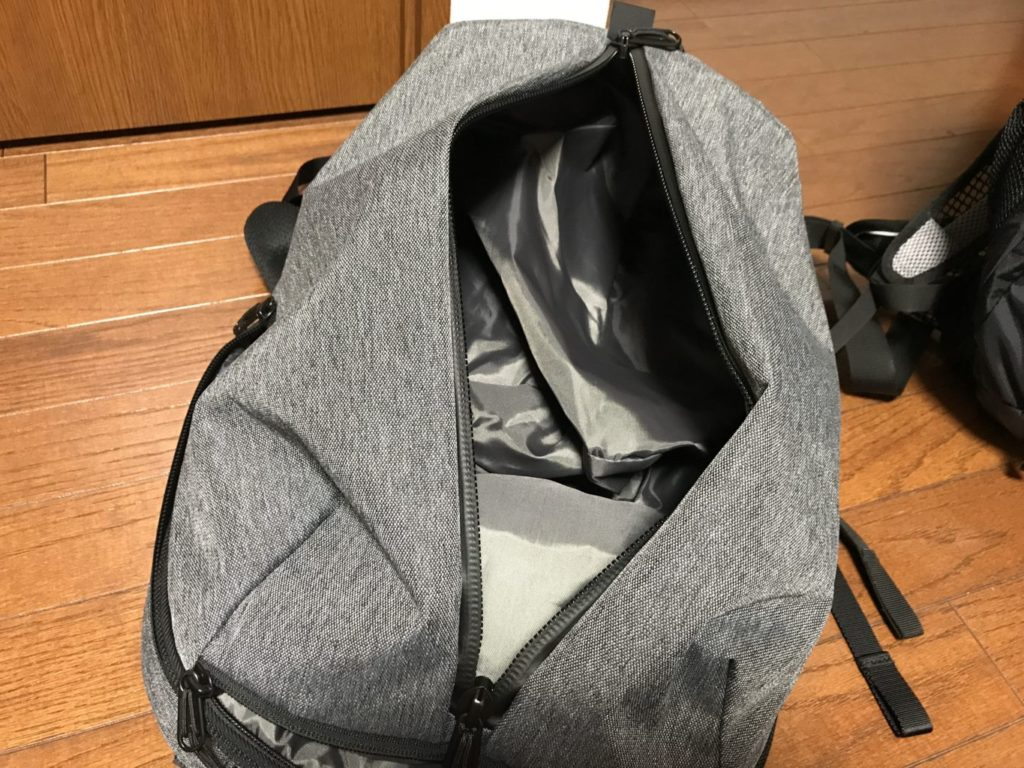 aer fit pack 2 main pocket