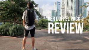 Aer Duffel Pack 2 - A Bigger Brother to the Fit Pack 2 Backpack