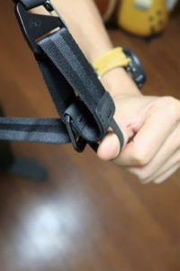 everyday sling 5l joby strap adjuster