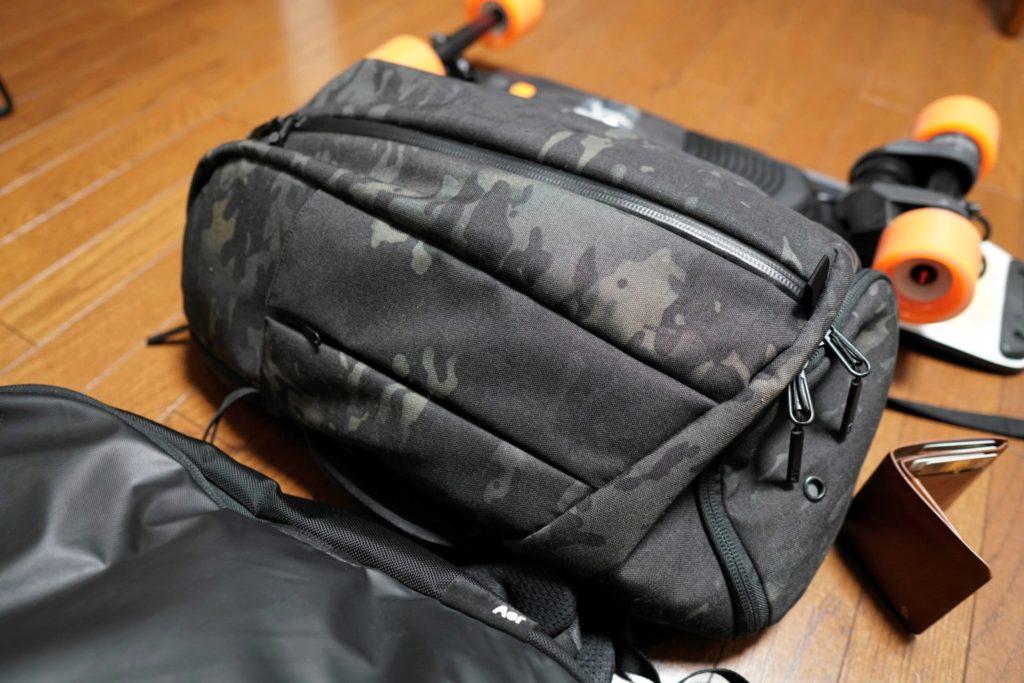 aer duffel pack 2 black camo