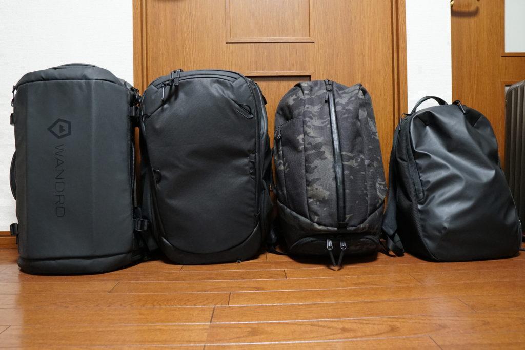 2 Backpack line up