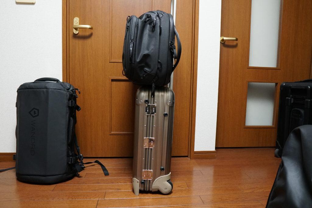 20 travel backpack docking
