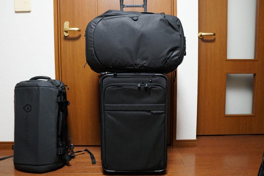 21 travel backpack baseline