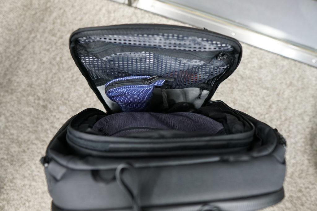 26 travelbackpack inner pockets