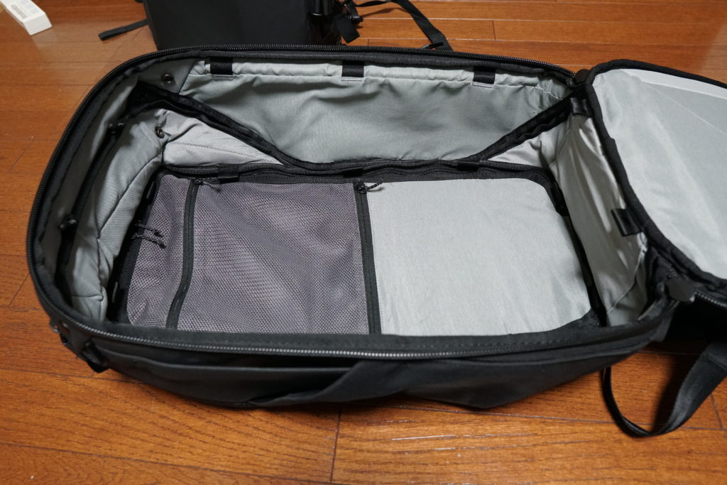 27 travel backpack inner main compartment