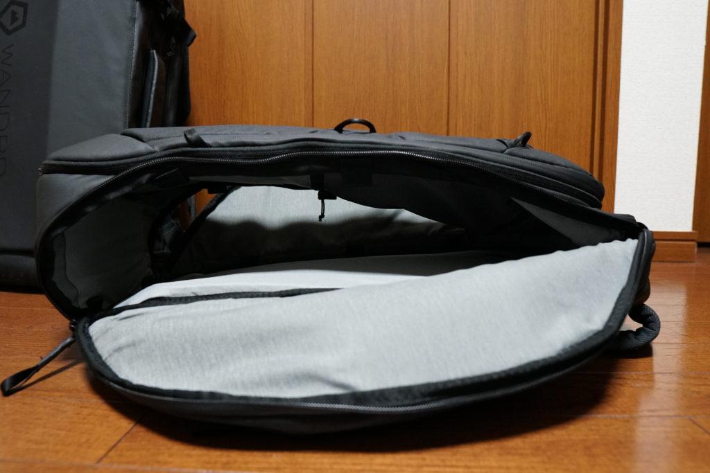 8 side pocket open from side