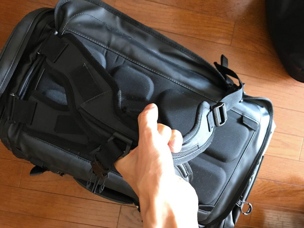 hexad duffel handles