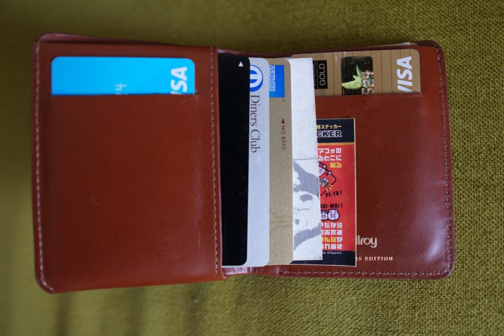 03 Bellroy Note Sleeve with cards