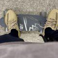 Yeezy Boost 350 V2 Earth skate board